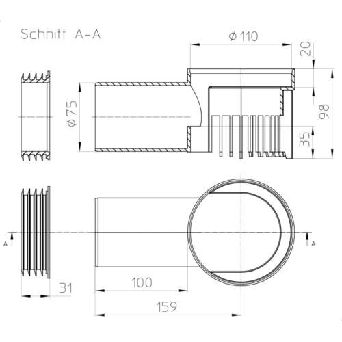 HL163Safe Дренажний елемент