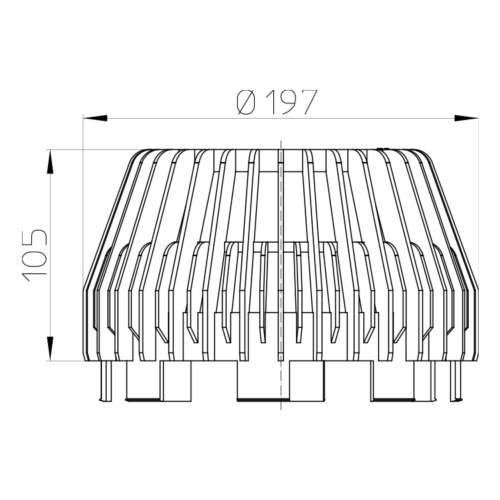 HL195 Уловлювач листя_схема