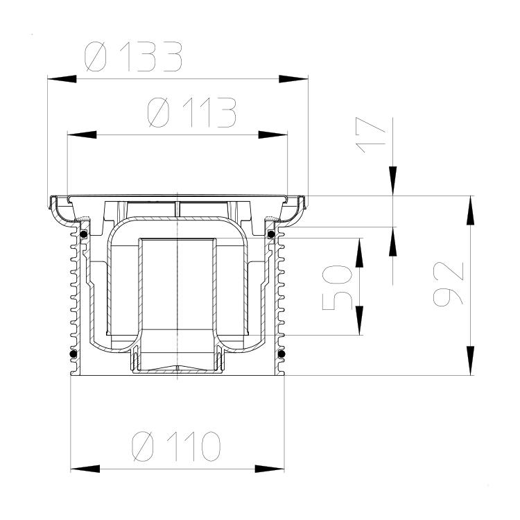 HL38N.1 Кругла насадка_схема