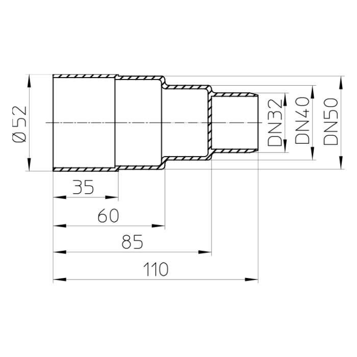 HL45 Будівельна пробка-заглушка_схема