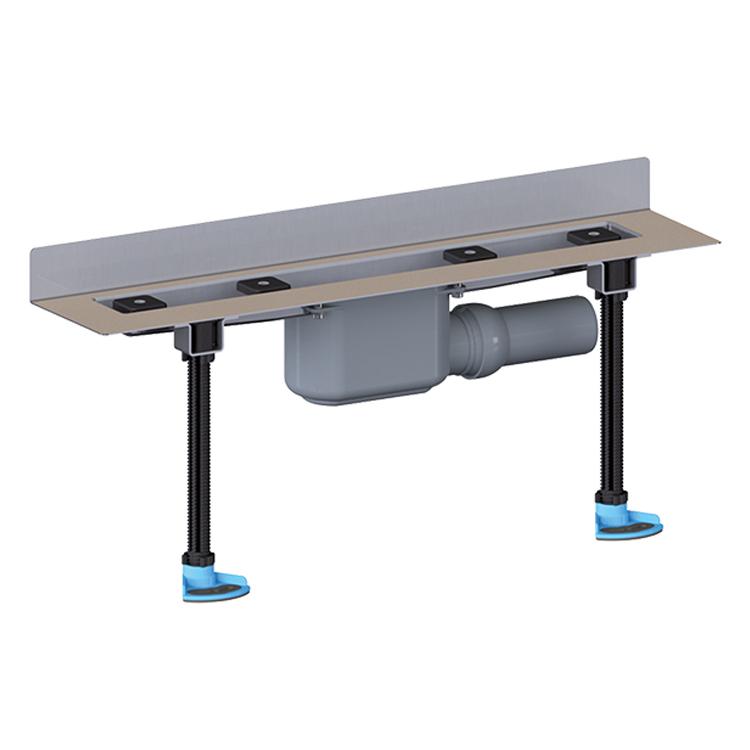 HL50W.0 Кутовий душовий лоток для лінійного відведення води