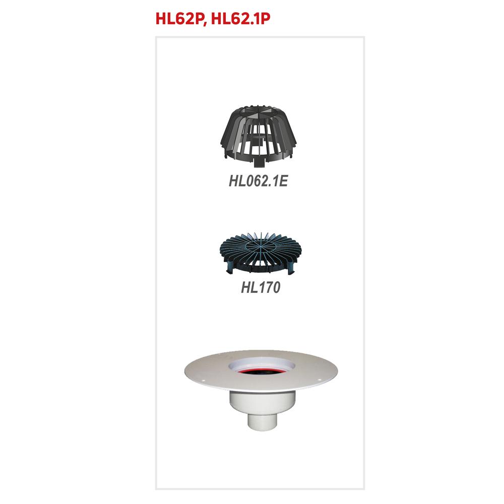 HL62.1P Покрівельна воронка
