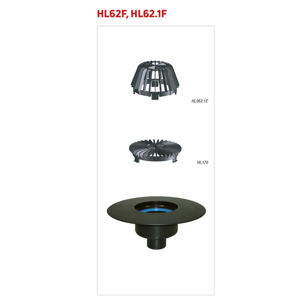 HL62F Покрівельна воронка
