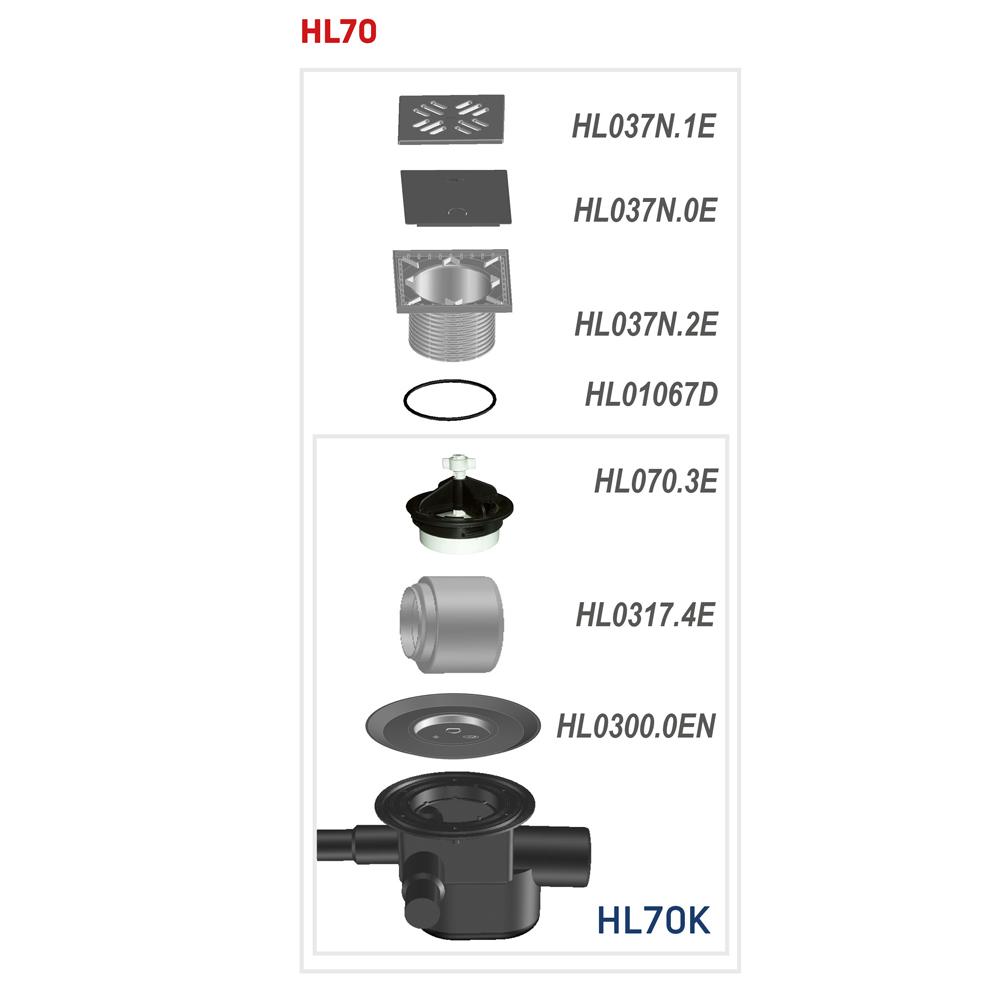 HL70 Трап для внутрішніх приміщень__
