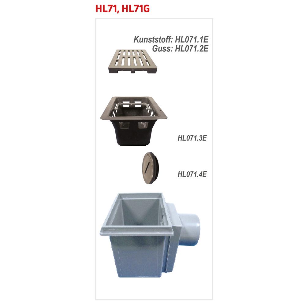 HL71 Трап для підвалів__