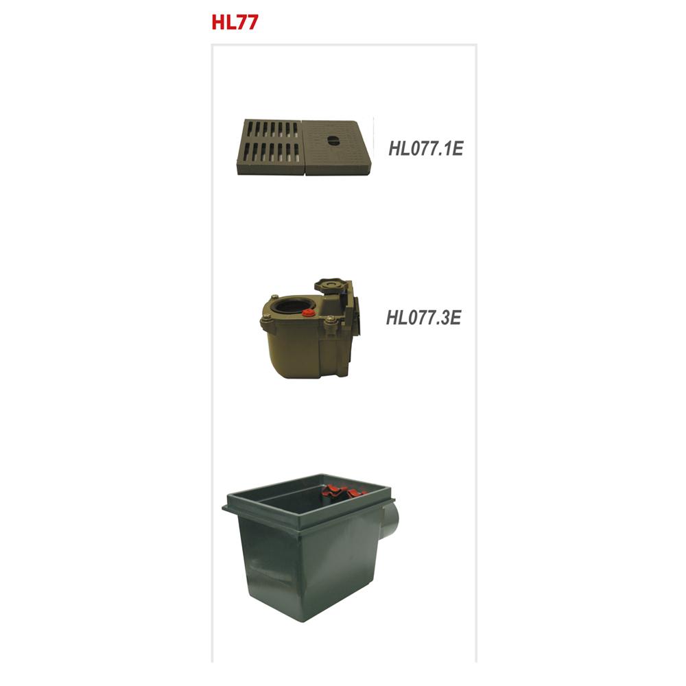 HL77 Трап для підвалів DN110__