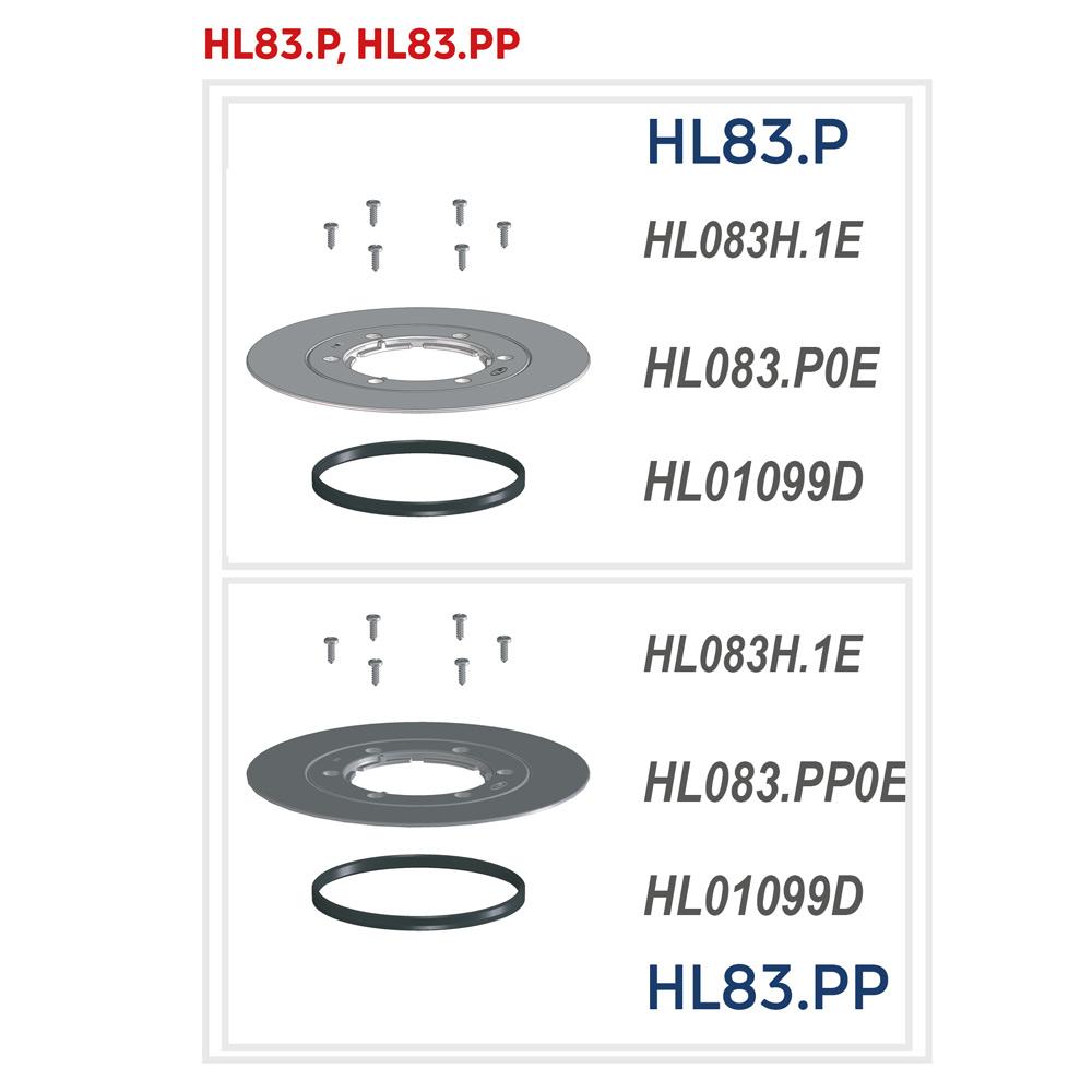 HL83.P Ущільнюючий комплект_