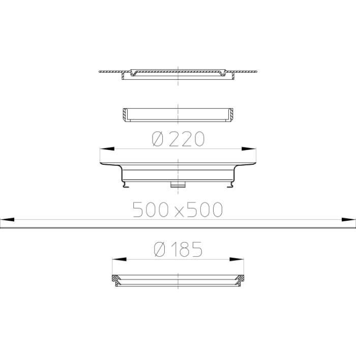 HL84 Ущільнюючий комплект_cхема