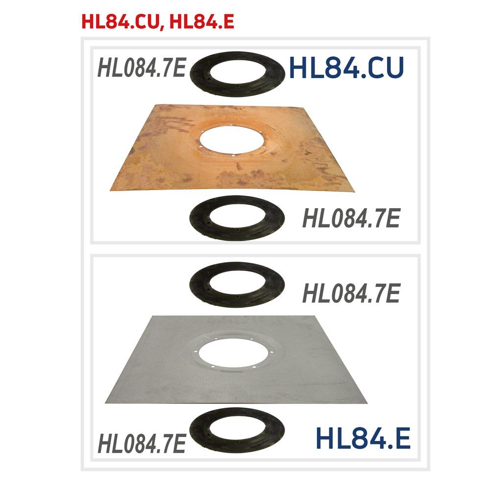HL84.CU Ущільнюючий комплект з мідним листом_