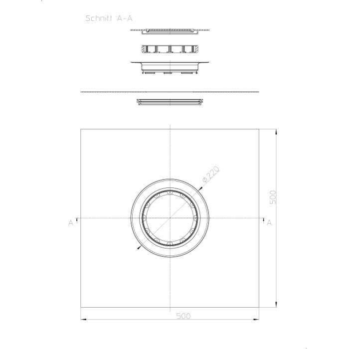 HL84.M Комплект для гідроізоляції_cхема