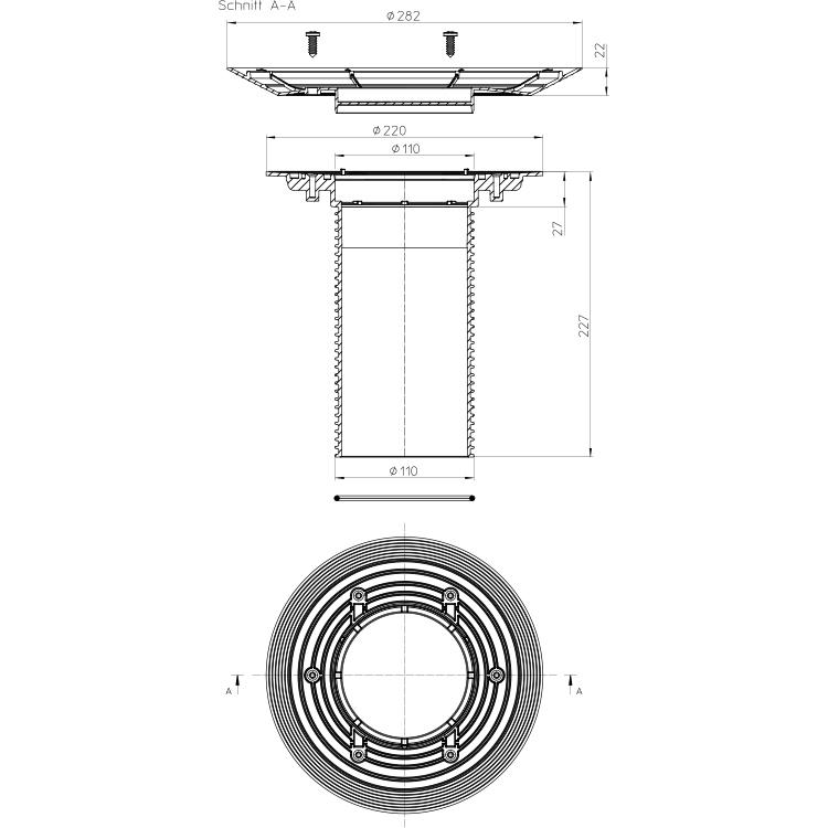 HL85N-3020 Надставний елемент_cхема