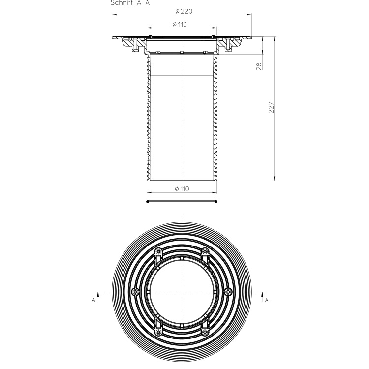 HL85N Насадна деталь_схема