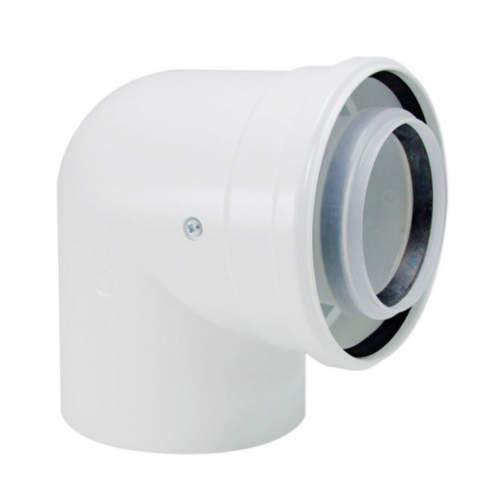 Коаксіальний Відвід 90° Bosch AZB 619 діаметром 60 мм