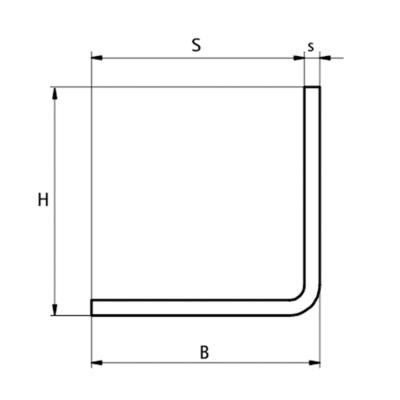 Walraven BIS L-Профіль монтажний - розміри
