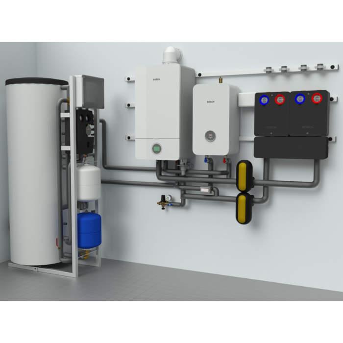 Комбінована котельня MAGMAmodule® Block Home - система опалення та нагрів води