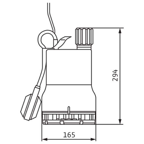 Drainage pump TMW 32/11HD