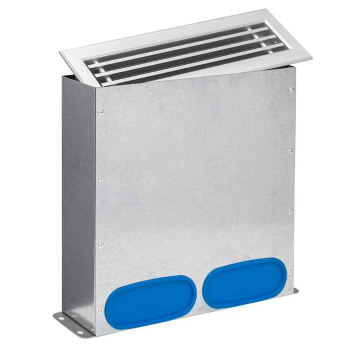 Підлоговий припливний дифузор для плоского патрубка