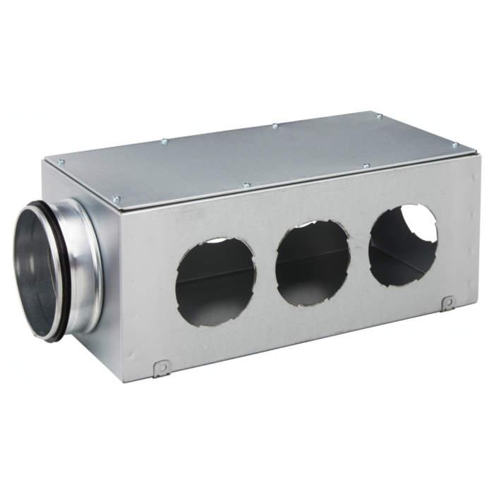 Вентиляційний колектор стальний 7 труб