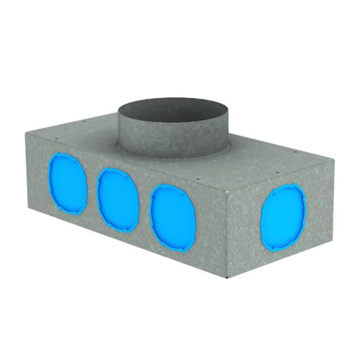 Вентиляційний колектор стальний