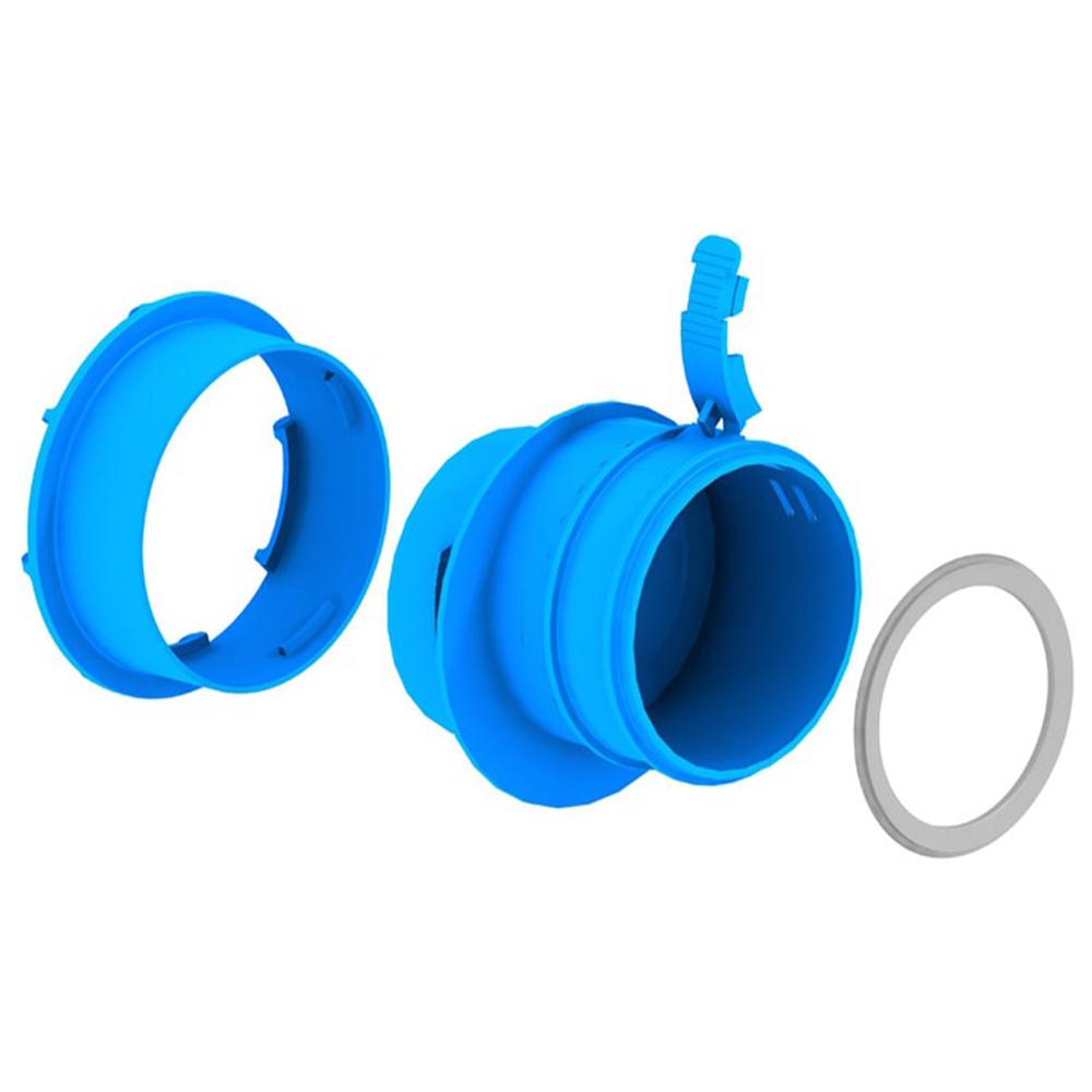З'єднання для вентиляційної труби до короба повітряного колектора