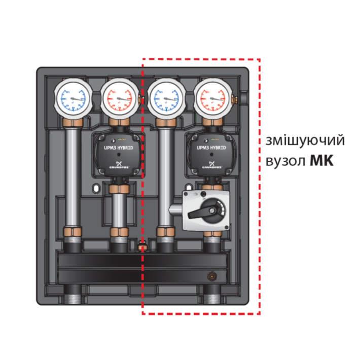 Універсальний насосно-змішувальний блок-модуль Kombimix