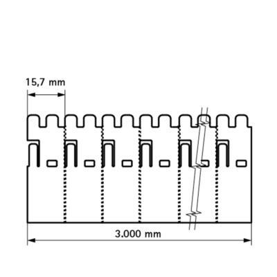 Walraven Pacifyre® EFC Протипожежна манжета - розміри