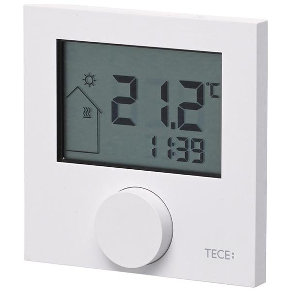 Кімнатний терморегулятор RT-D з рідкокристалічним дисплеєм TECEfloor