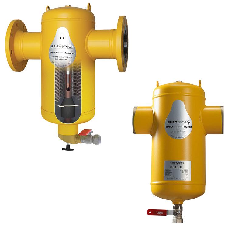 Сепаратор повітря/бруду з вбудованим магнітом SpiroCombi-Magnet Air & Dirt