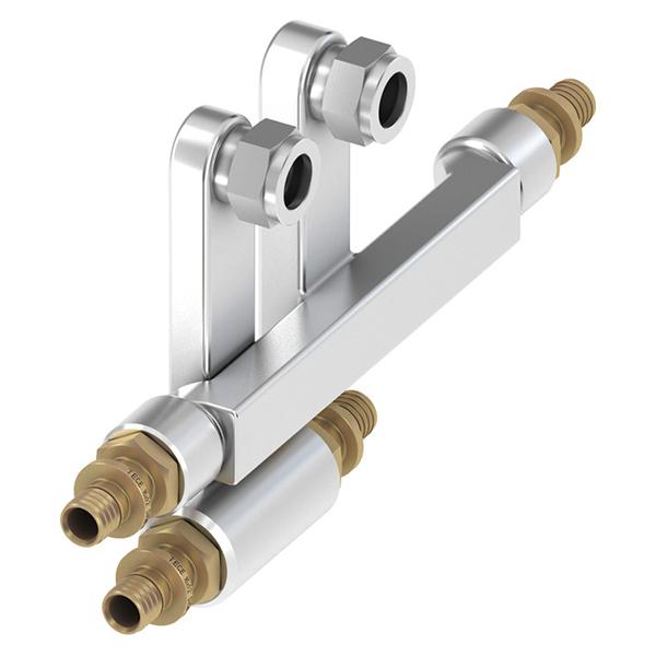 Блок підключення трубок до радіаторів TECEflex